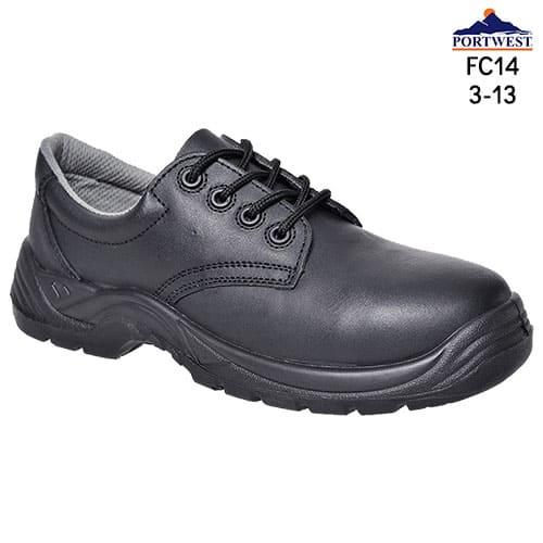composite toe capped shoe