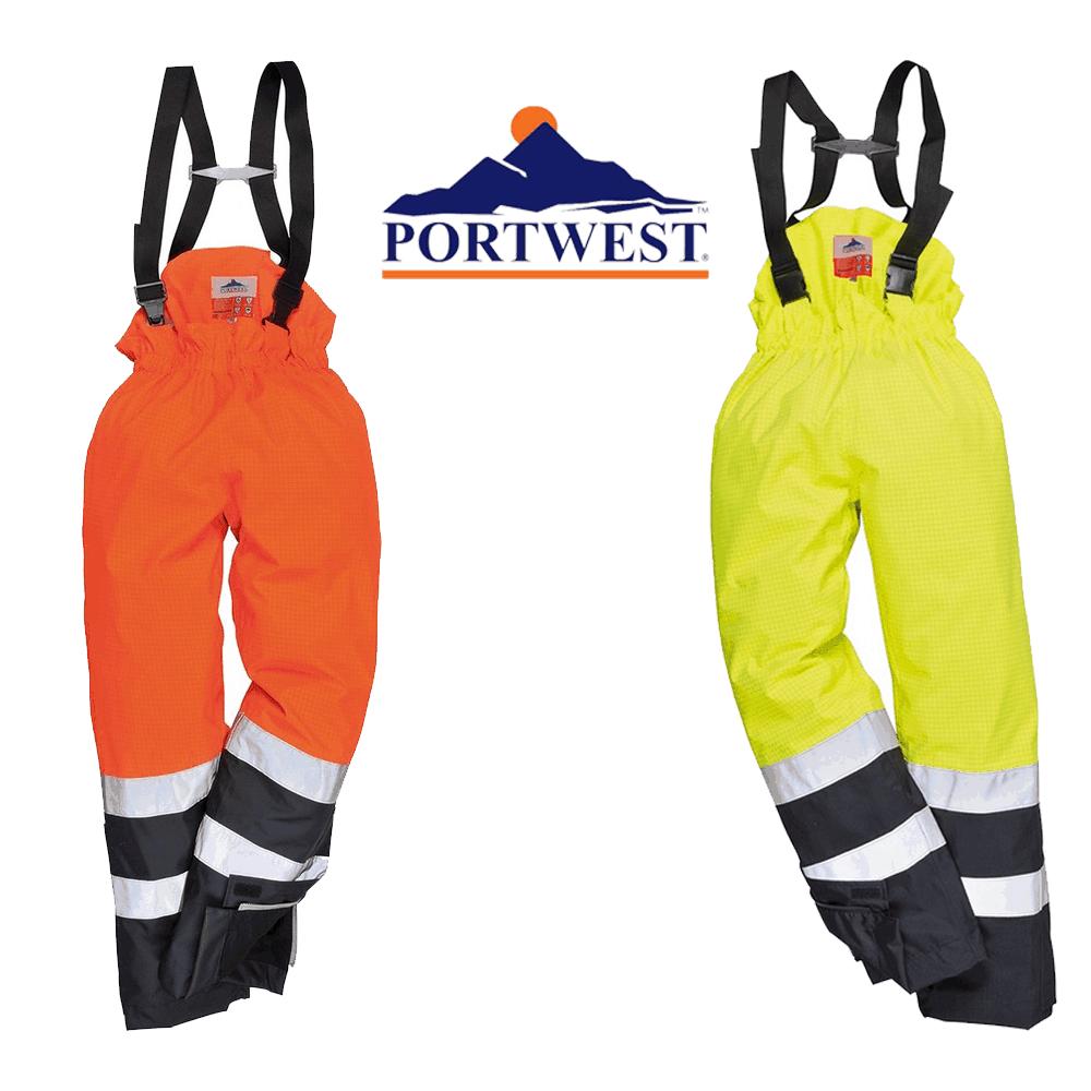 a632f1c520e1 Portwest Hi-Vis Bizflame Pro Trouser  FR92  - WorkStuff UK Limited