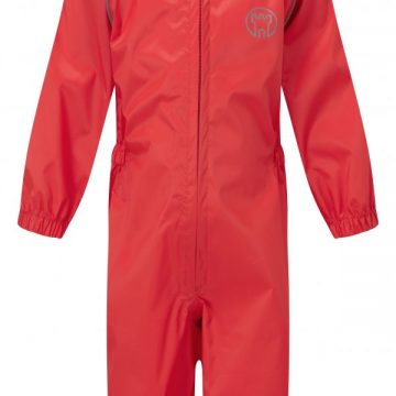 Blue Castle Splashaway Childs Rainsuit Red