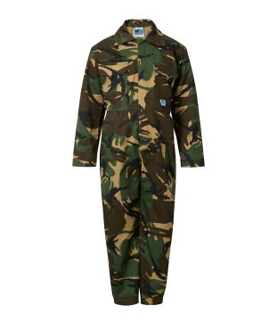Castle Tearaway Childrens Coverall Woodland