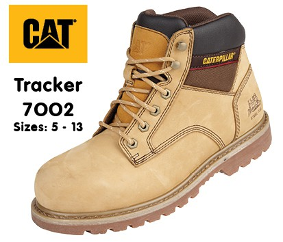 CAT Tracker Safety Boot