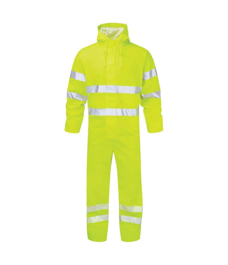 Fortress Air Reflex Hi Vis Waterproof Coverall