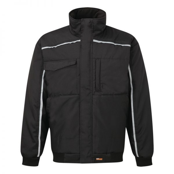 TuffStuff Buckland Bomber Jacket Black