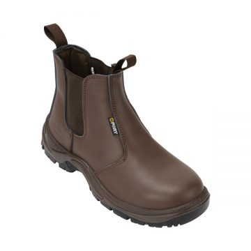 Nelson Safety Dealer Boot Brown