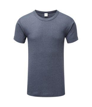 Thermal Short Sleeve Vest Denim