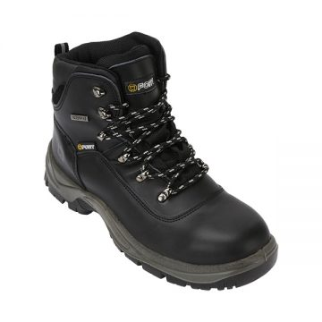 Toledo Safety Waterproof Ankle Boot Black