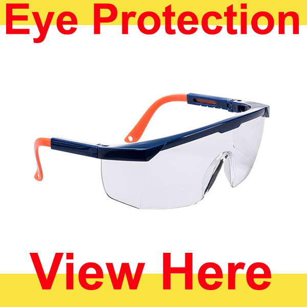 Eye Protection Button