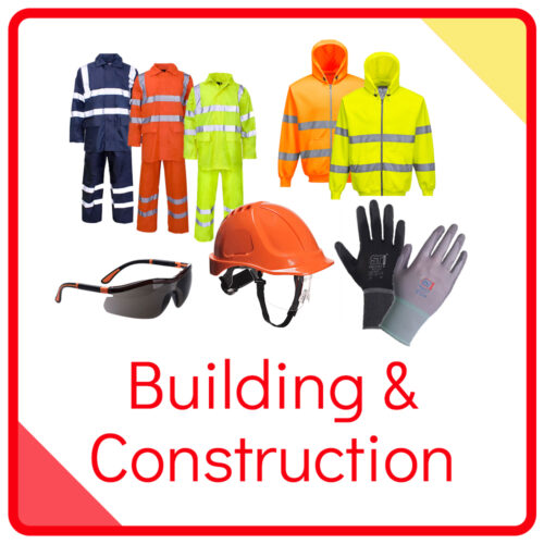 Back To WorkWear industries - Construction